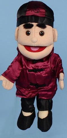 "14"" Asian Boy Glove Puppet - Peazz.com"