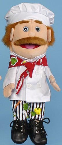 "14"" Chef Glove Puppet - Peazz.com"