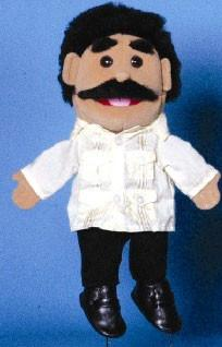 "14"" Dad Glove Puppet Hispanic - Peazz.com"
