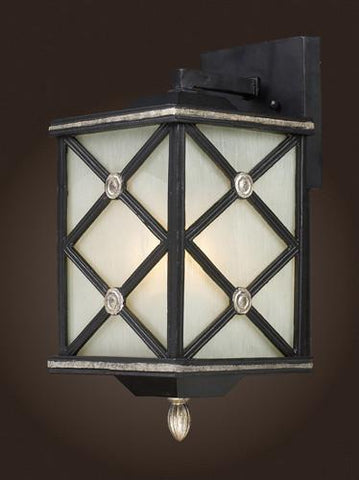 ELK Lighting 42130-1 One Light Outdoor Sconce In Matte Black - Peazz.com