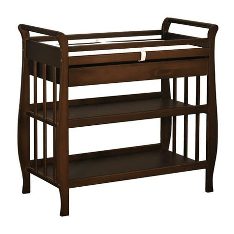 AFG Athena Nadia Changing Table in Espresso 3353E - Peazz.com