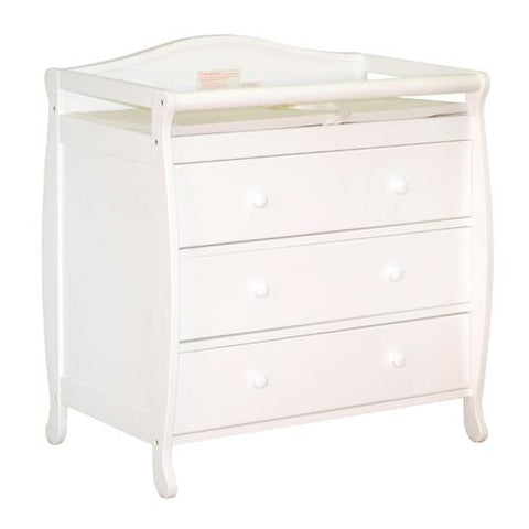 AFG Athena Grace Changing Table in White 3358W - Peazz.com