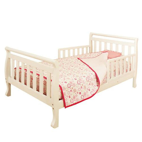 AFG Athena Anna Toddler Bed in White 7008W - Peazz.com