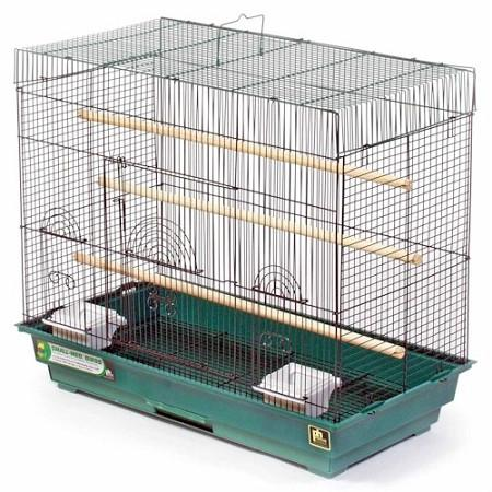 Parakeet Flight Cage - Green - Peazz.com