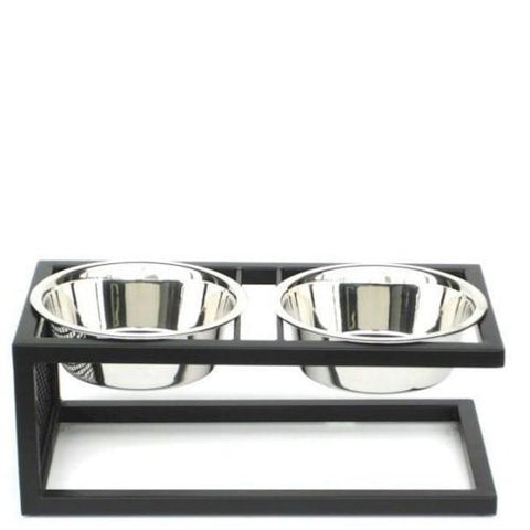 Cantilever Elevated Dog Bowl - Large - Peazz.com