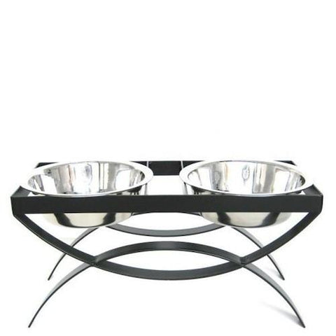 SeeSaw Elevated Dog Bowls - Large - Peazz.com