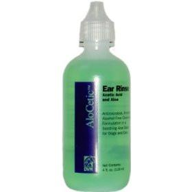 AloCetic Ear Rinse 4oz. - Peazz.com