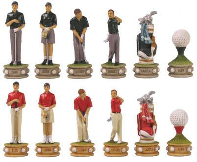 Fame 7459 Golf II Chess Pieces - Peazz.com