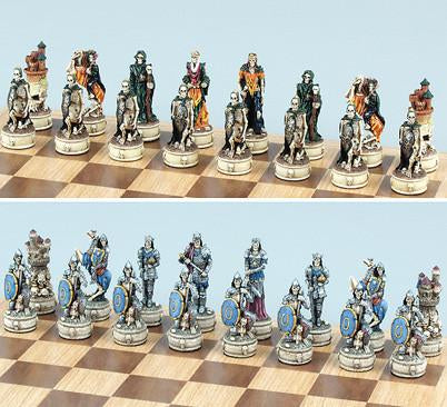 Fame 7637 Skeleton Slayers Chess Pieces - Peazz.com