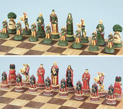 Fame 9284 Robin Hood Chess Set Pieces - Peazz.com