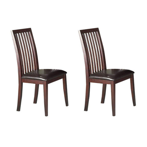 Alpine 2x113-02 Side Chair Set Of 2 - Peazz.com