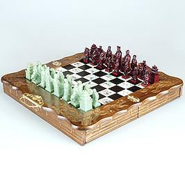 "Fame Oriental 19"" 8 Fairy Chess Set 3384W - Peazz.com"