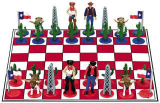 Fame Texas Chess Set 53060 - Peazz.com