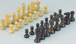 "Fame Triple Weighted 4-1/4"" Chessmen 350-4 - Peazz.com"