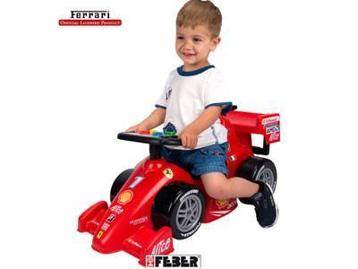 Ferrari Push Car - Peazz.com
