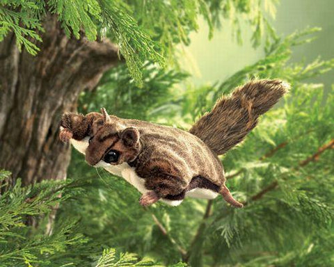 Folkmanis Squirrel, Flying Hand Puppet - 2580 - Peazz.com