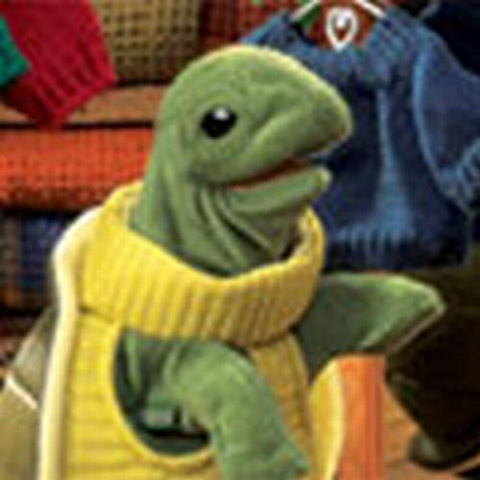 Folkmanis Turtleneck Turtle Hand Puppet - 2881 - Peazz.com
