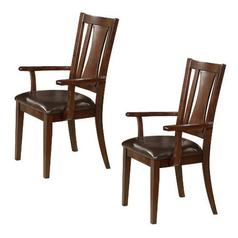 Alpine 2x637-23A Arm Chair Set Of 2 - Peazz.com