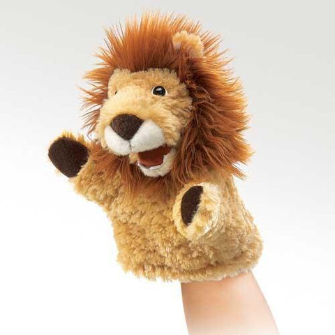 Folkmanis Little Lion Little Puppet - 2930 - Peazz.com