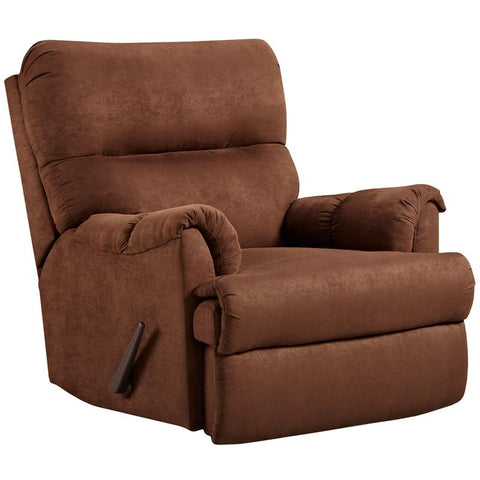 Flash Furniture 2155ARUBACHOCOLATE-GG Exceptional Designs Aruba Chocolate Microfiber Rocker Recliner - Peazz.com