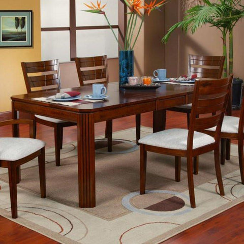 Alpine 550-64 Extension Dining Table - Peazz.com