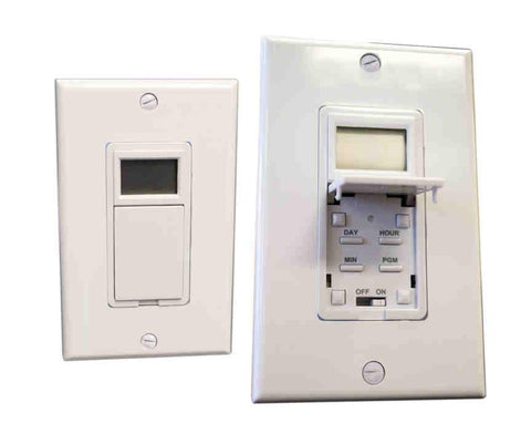 Amba Products ATW-T24 Programmable Timer (Hardwired) - White - Peazz.com