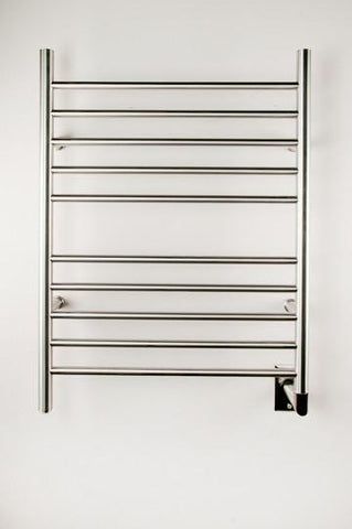 Amba Products Towel Warmer RWH-SB Radiant Hardwired Straight - Brushed - Peazz.com