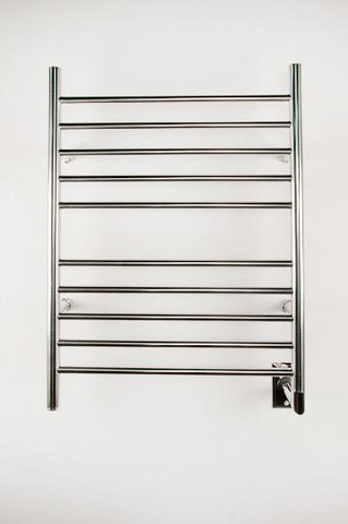 Amba Products Towel Warmer RWH-SP Radiant Hardwired Straight - Polished - Peazz.com