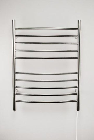 Amba Products Towel Warmer RWP-CP Radiant Plug-in Curved - Polished - Peazz.com