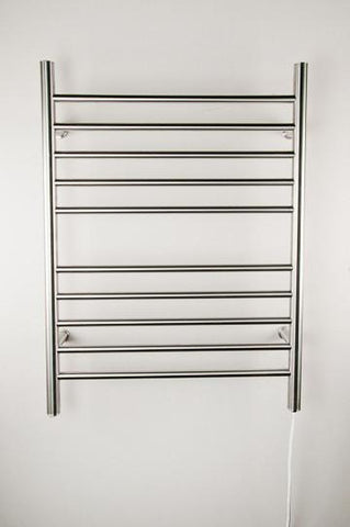 Amba Products Towel Warmer RWP-SP Radiant Plug-in Straight - Polished - Peazz.com