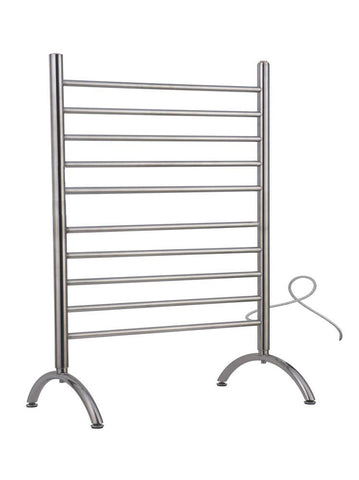 Amba Products Towel Warmer SAFSB-33 Freestanding 33 - Brushed - Peazz.com