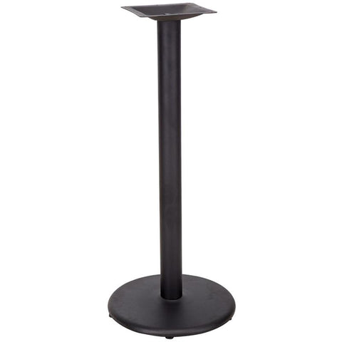 18'' Round Restaurant Table Base with 3'' Bar Height Column XU-TR18-BAR-GG by Flash Furniture - Peazz.com
