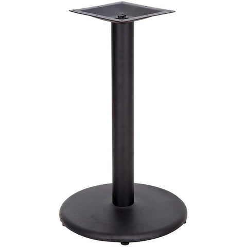 24'' Round Restaurant Table Base with 4'' Table Height Column XU-TR24-GG by Flash Furniture - Peazz.com