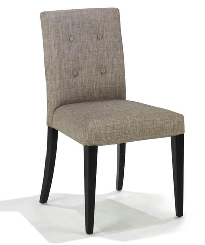 Wall St  Fabric Side Chair 2 Pack by Armen Living - Peazz.com