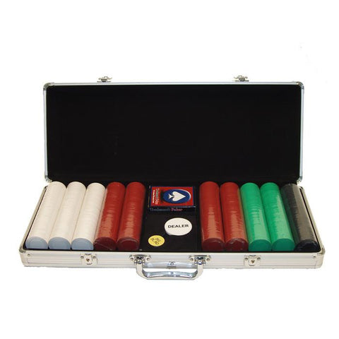 Trademark Commerce 10-1010-5001S 500 Super Diamond Chips In Alum Case - Peazz.com