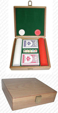 Trademark Commerce 10-1010-100w Poker Chip Gift Set - 100 Chips Plus More! - Peazz.com