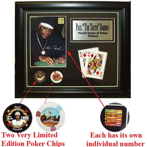 Trademark Commerce 10-PDPLAQ Paul Darden Limited Edition Collectible Plaque - Peazz.com