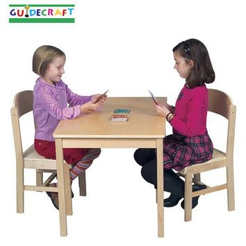 Guidecraft Woodscape Chairs Set of 2 - Peazz.com