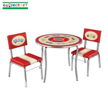 Guidecraft Retro Racers Table & Chairs Set - Peazz.com
