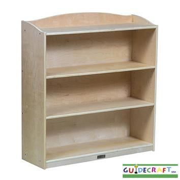 "Guidecraft Single-Sided Bookcase - 36"" H - Peazz.com"