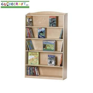 "Guidecraft Single-Sided Bookcase - 60"" H - Peazz.com"
