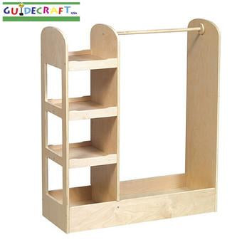 Guidecraft See and Store Dress-up Center - Natural - Peazz.com