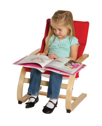 Guidecraft G6339 Kiddie Rocker - Red - Peazz.com