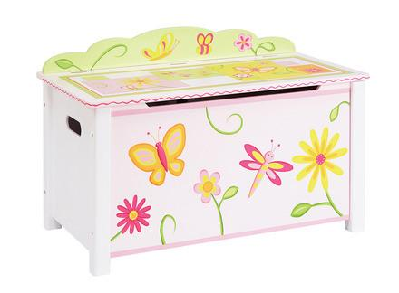 Guidecraft G88104 Gleeful Bugs Toy Box - Peazz.com