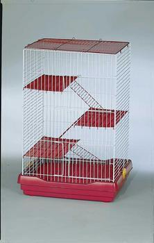 "4 Story Ferret/chinchilla Cage 24 X 17 X 36""h - Peazz.com"