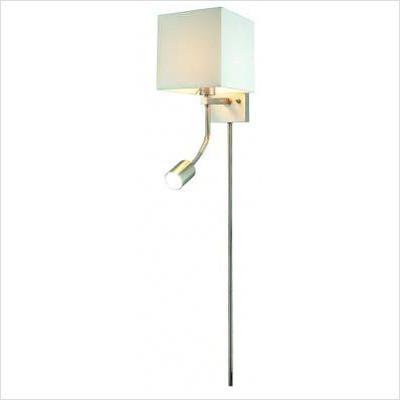 "Gen-Lite 100835CC Led Wall Square Shade Gooseneck Down Light 34""Cc - Peazz.com"