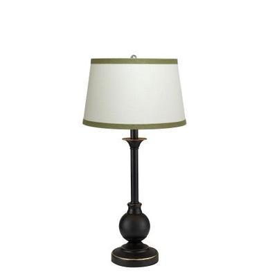 Gen-Lite 102148SG Urban Access Lamp Off  White Sprout Green