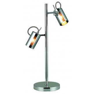 Gen-Lite 103818 Chrome 1 Light Table Lamp - Peazz.com