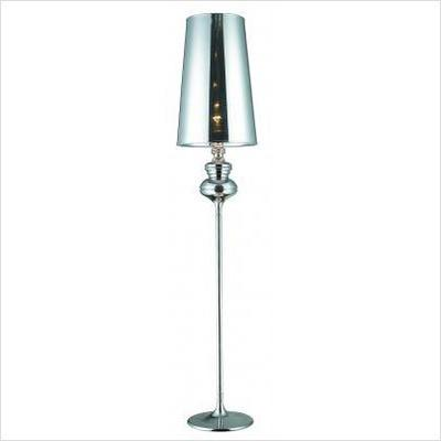Chrome | Shade | Floor | Lamp
