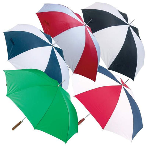 "All-Weather 48"" Auto Open Umbrella - Peazz.com"